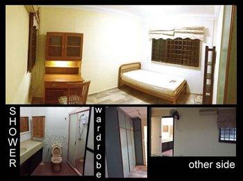 Spacious Master Room available Near Kovan!!! NO AGENT FEE!