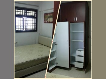 Master Room for rent at Blk 41 Chai Chee Street with AC....