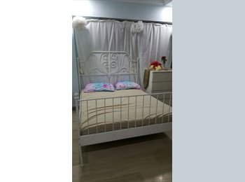 Common Room for rent at Blk 286  near MRT! AC WiFi!