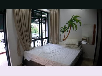 The spacious single room with king bed, big wardrobe, free...