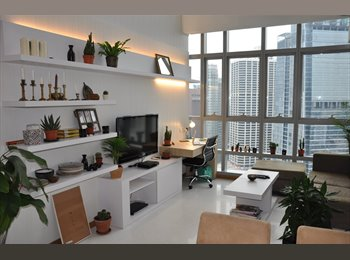 Whole 2 Bedroom Luxury Loft Apartment - $5200 pcm