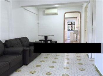 EasyRoommate SG - Single small room to rent, Braddell - $600 pcm
