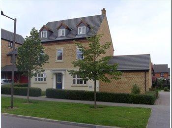 EasyRoommate UK - Massive Double bedroom in Executive house on Monkston, Milton Keynes - £490 pcm