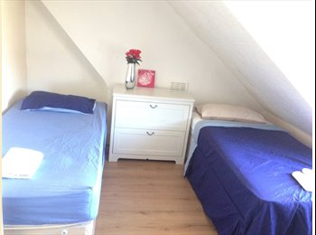 Twin room perfect for friends or couples - all bills...