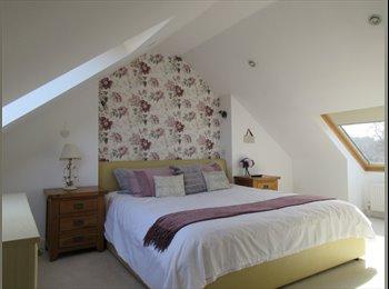 EasyRoommate UK - Large double room with own private en-suite in top floor annex, Hightown - £550 pcm
