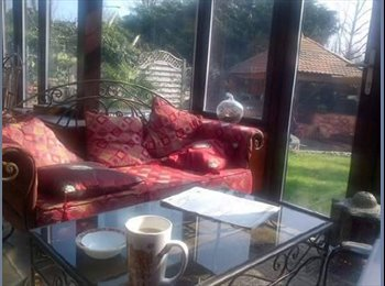 Lovely  Double and single Room available within a lovely...
