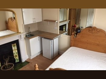 EasyRoommate UK - LARGE DOUBLE ROOM OWN KITCHENETTE  FOR SINGLE LADY - Pokesdown, Bournemouth - £400 pcm