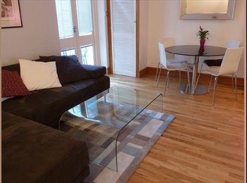 Large rm with en-suite in luxury garden flat