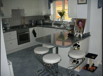 EasyRoommate UK - Sun/Mon-Fri Large Fully furnished Room for Rent - Swindon Town Centre, Swindon - £450 pcm