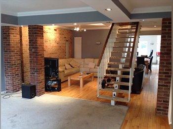 large 3 storey open plan house