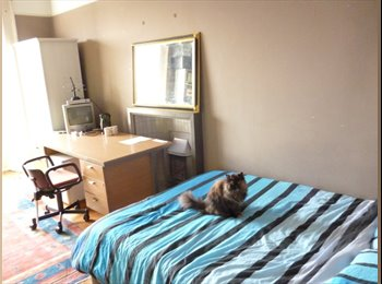 Large Room (with double bed) in spacious West End flat, all...