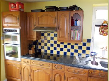 A double rooms with a single bed in quiet location