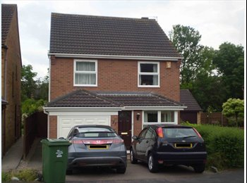 EasyRoommate UK - **ONE AVAILABLE, FULLY FURNISHED DOUBLE ROOM**, Loughborough - £275 pcm