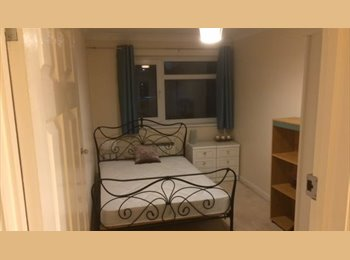 Double room in smart 2 bed flat in Southampton