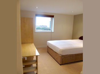 EasyRoommate UK - Furnished double room to rent in a luxury flat - Southampton, Southampton - £575 pcm