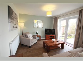 EasyRoommate UK - Beautiful all-inclusive double rooms from £117pw - Woodley, Reading - £670 pcm