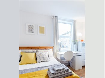 Large furnished double room for professionals/contract...