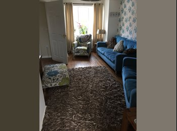 Double room in new five bed town house