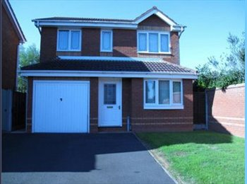 EasyRoommate UK - Double Room with Parking, Bathroom and Internet. - Hopwas, Tamworth - £400 pcm