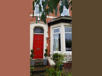EasyRoommate UK - sINGLE ROOM IN LOVELY vICTORIAN TERRACE BY pARK, Blackpool - £260 pcm