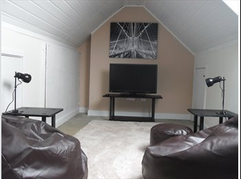 EasyRoommate UK - Sauna, Gaming Loft, Room available - Fenham, Newcastle upon Tyne - £370 pcm