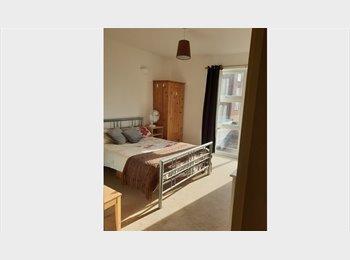 Spacious, airy double bedroom in Hanworth