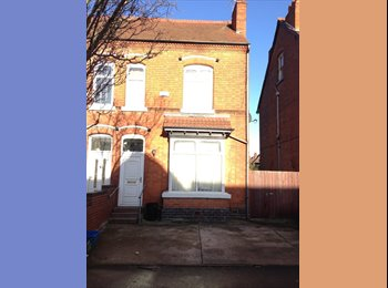 Large single/small double room in Professional House-share