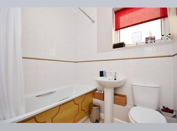 Well furnished double room and ensuit bathroom