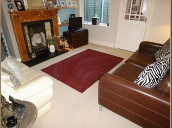 One double room in large house