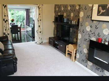 Furnished double room to let in lovely house