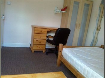 Lovely, bright sunny room in great student house!