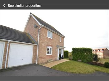 EasyRoommate UK - Double room  - Great Oakley, East Northamptonshire and Corby - £350 pcm