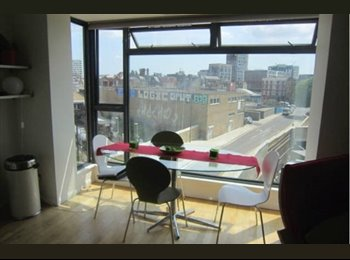 Double br available in 2 br flat in Dalston