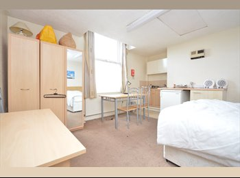 Long term bedsit flats in professional building