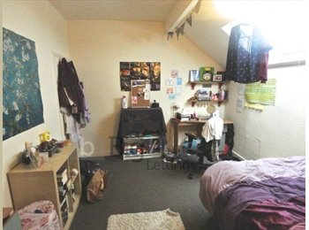 Room to let in 4 bed student house