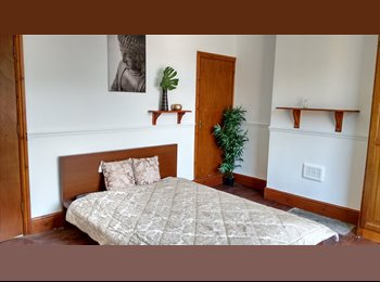 EasyRoommate UK - Triple Size Room 160 sq ft - Beaumanor Road - Belgrave, Leicester - £365 pcm