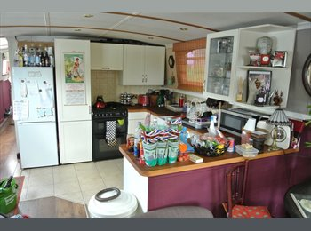 EasyRoommate UK - Room to let on a river boat - Caversham, Reading - £420 pcm