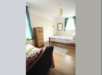 Spacious double bedroom for summer in Walthamstow