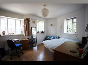 Big & Sunny fournshed Bedroom in Whitechapel