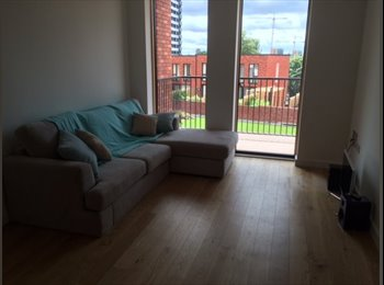 EasyRoommate UK - Double Bedroom in the VIMTO gardens complex - Trinity Riverside, Salford - £450 pcm