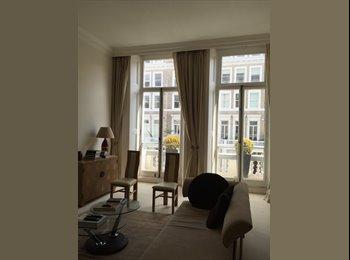 Second floor, high ceilings with balcony, South Kensington