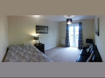 EasyRoommate UK - Generous sized room in new built flat. - St. Albans, St Albans - £650 pcm