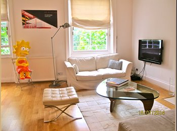 Bright contemporary spacious flat in Notting Hill