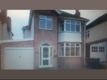 EasyRoommate UK - DOUBLE ROOM FOR RENT- SHORT TERM LET - Harborne, Birmingham - £315 pcm