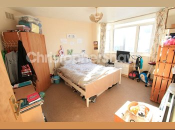 EasyRoommate UK - Great doubleroom in a 3 bedroom flat in WINTON - Winton, Bournemouth - £350 pcm