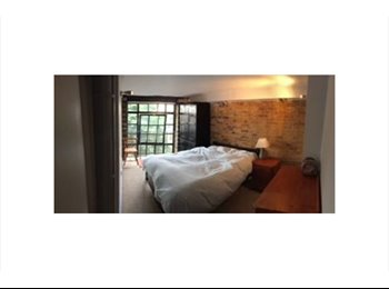 Large dble in Spitalfields Warehouse Conversion
