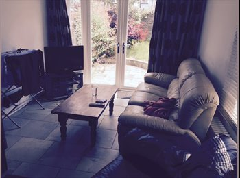 EasyRoommate UK - Double bedroom available in terraced house - Roath, Cardiff - £285 pcm