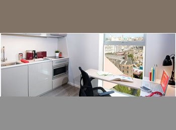 EasyRoommate UK - Vita Student - Luxury student studio, incl. all utilities - Manchester City Centre, Manchester - £844 pcm