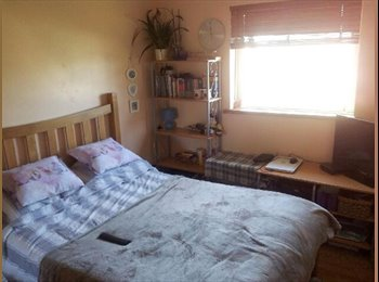 EasyRoommate UK - A double room in a friendly shared 3 bed flat, 3 min from Trains - Feltham, London - £520 pcm