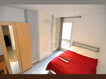 A contemporary double room on the ground floor of